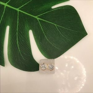 BNWT marble earrings